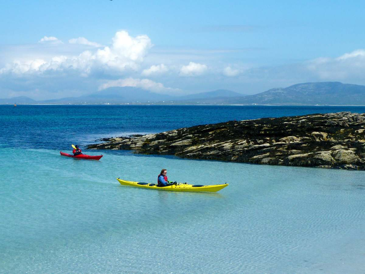 Barra Hebrides sea kayak half day trips