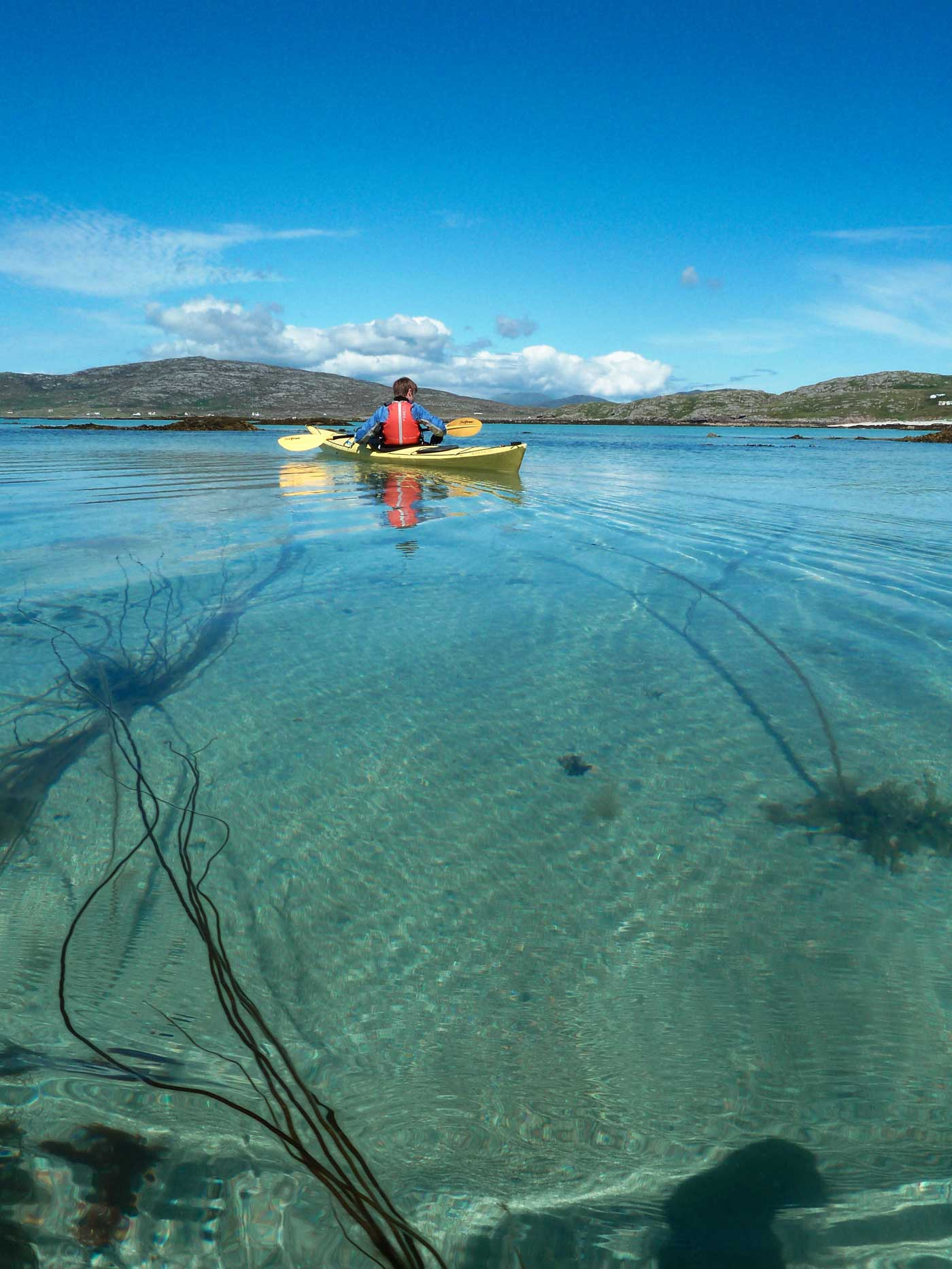 Barra Hebrides sea kayak day trips