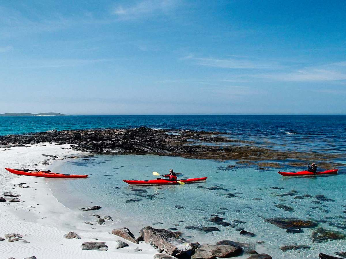 Barra Hebrides sea kayaking trips