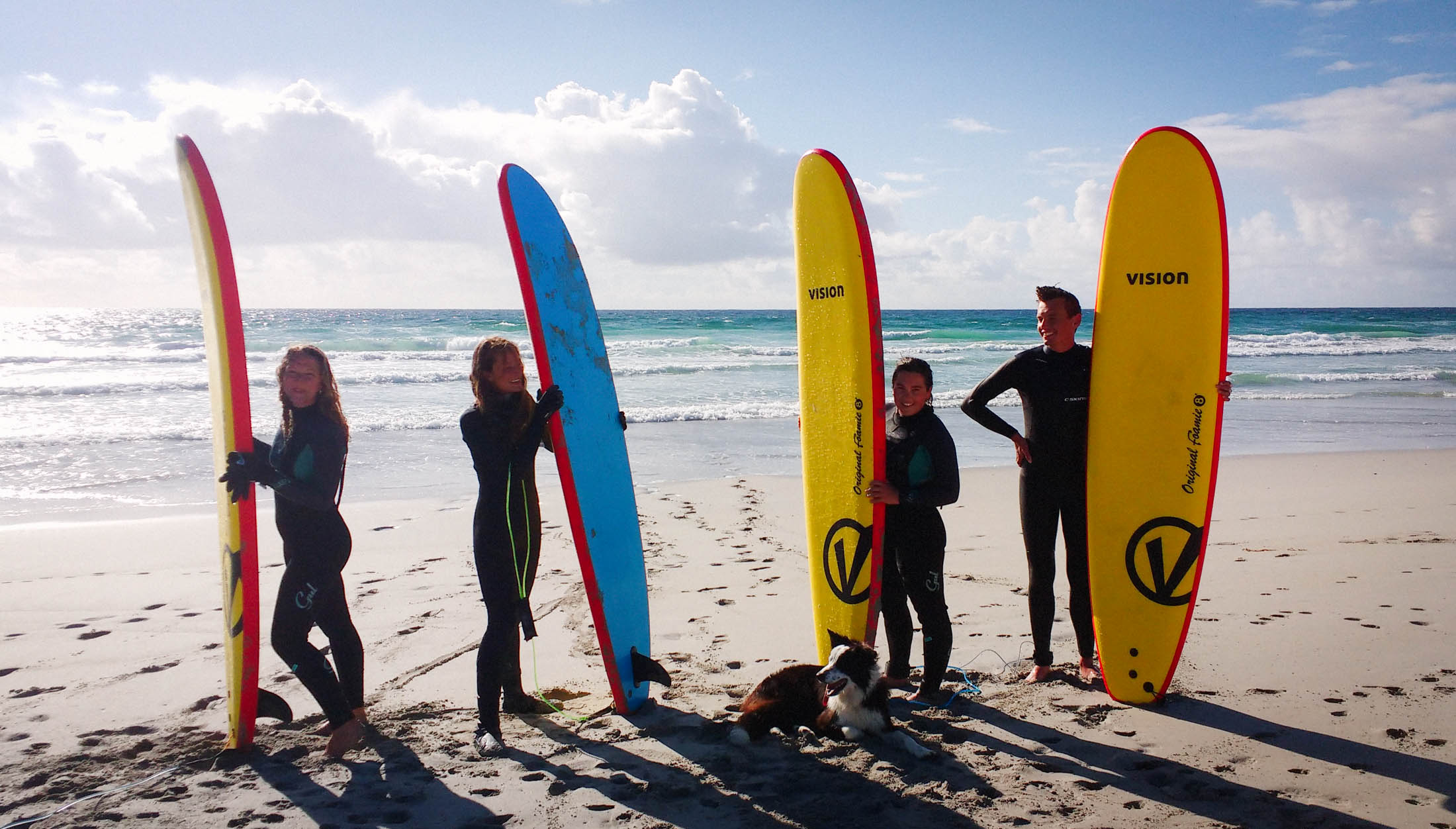 surfing lessons on the Isle of Barra, Hebrides